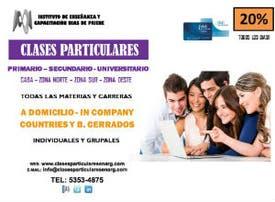 Clases Particulares - Instituto Bias de Priene - 20%