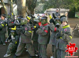 Area 51 Paintball - 50%