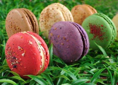 Para los papás golosos: la caja de macarons grandes, de 15 piezas, en variedad de sabores, $60; se consiguen en En el Nombre del Postre (Soler 5547). Foto: lanacion.com