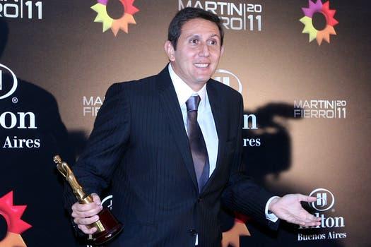 Juan Pablo Varsky, mejor labor periodística masculina en radio. Foto: DyN