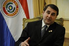 El presidente de Paraguay, Federico Franco