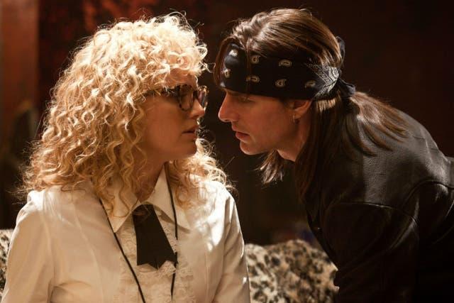 La era del rock, protagonizada por Tom Cruise, no alcanzó las expectativas