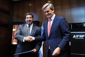 El acuerdo fue firmado por el titular de la AFIP, Ricardo Echegaray, y el embajador de España en la Argentina, Román Oyarzun