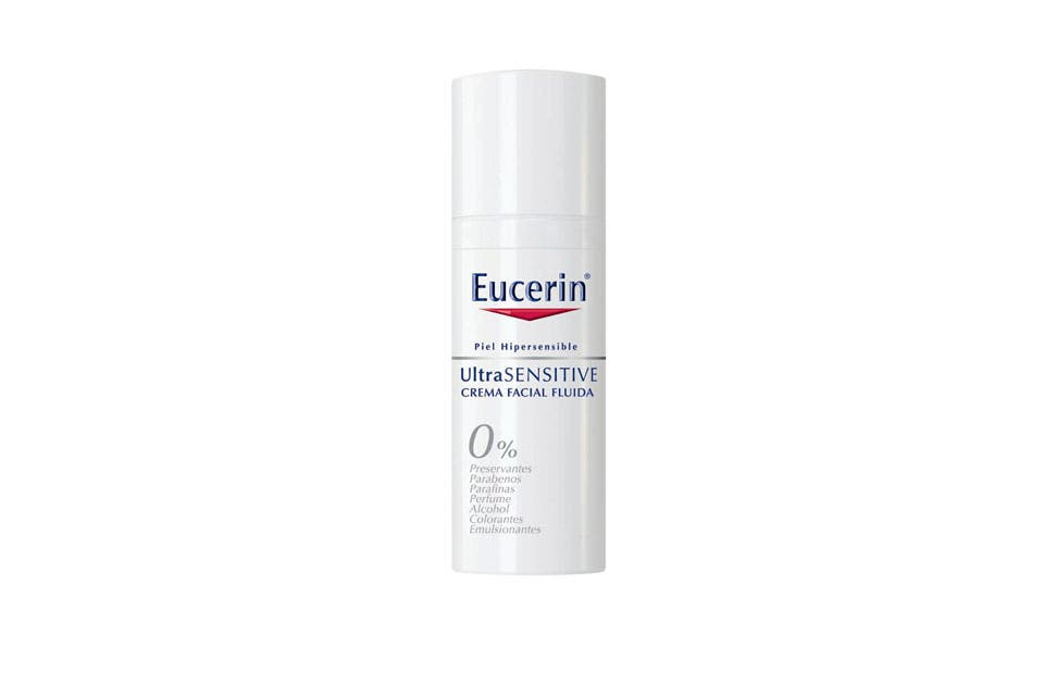 Ultra Sensitive Envase Anticontaminación ($255, Eucerin).