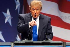 Trump se quejó porque minimizaron su fortuna