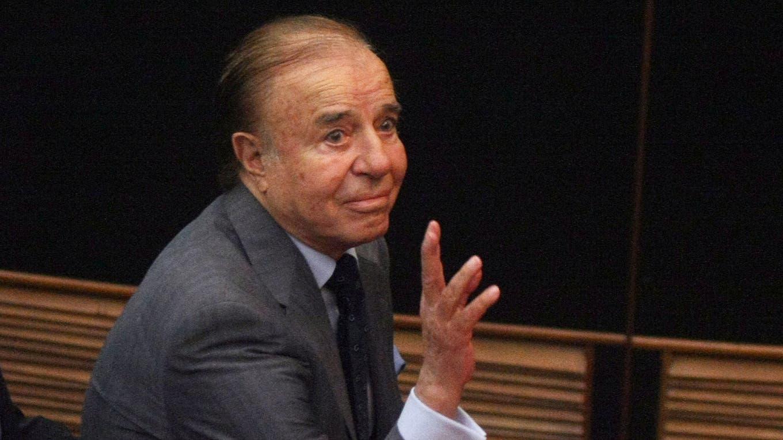 Condenaron a Carlos Menem a cuatro años y medio de prisión por el pago de sobresueldos. Foto: Archivo / Fabián Marelli / LA NACION
