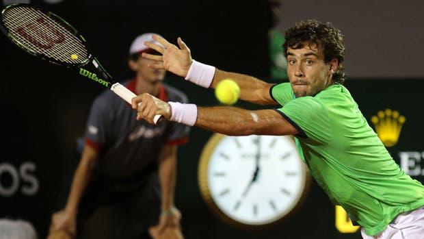 Pese a perder la final del ATP 500 de Río, Pella trepó 29 lugares en el ranking hasta el puesto 42º