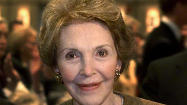 Nancy Reagan, ex primera dama de EE.UU.