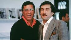 Jerry Lewis con Robert De Niro en El rey de la comedia