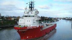 Se prepara el segundo buque con un minisubmarino para buscar al ARA San Juan