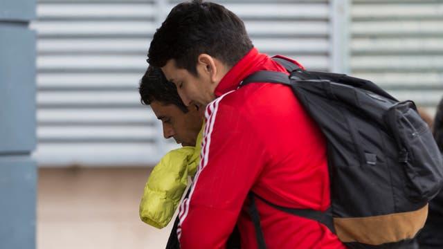 Algunos familiares de las víctimas pudieron viajar a Mendoza a buscar los cuerpos.
