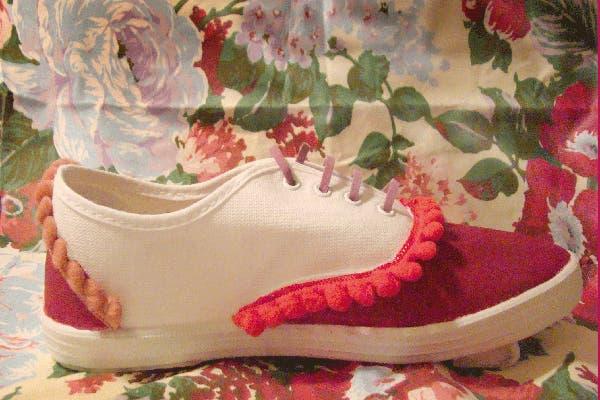 Zapatillas que podés customizar a tu gusto (desde $150).