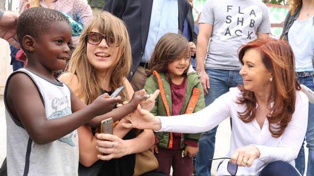 Cristina analiza gira a Europa antes de asumir como senadora