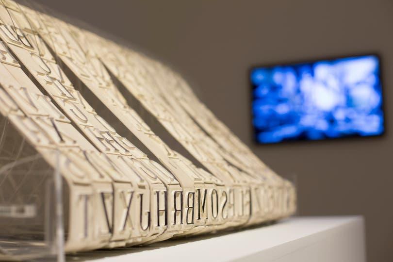 La mecánica del abecedario, Eduardo Navarro, 2015