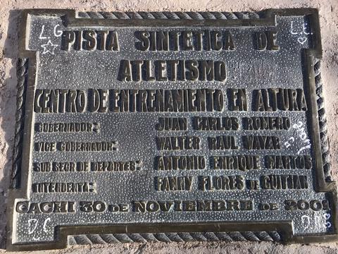 La pista fue inaugurada el 30 de noviembre de 2001. Foto: Damián Cáceres