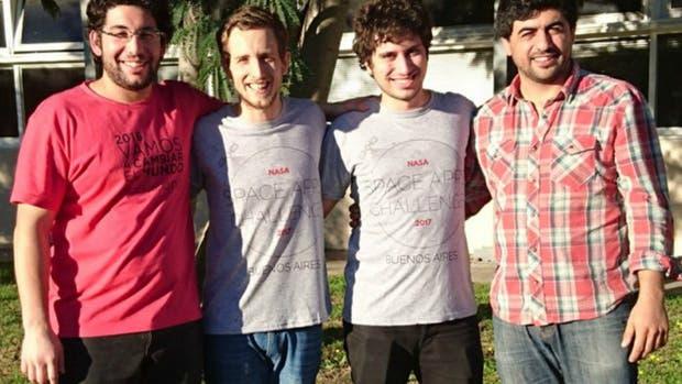 Los jóvenes argentinos premiados por NASA