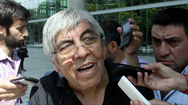Moyano dijo que el Gobierno debe dar respuestas a los reclamos de los gremios