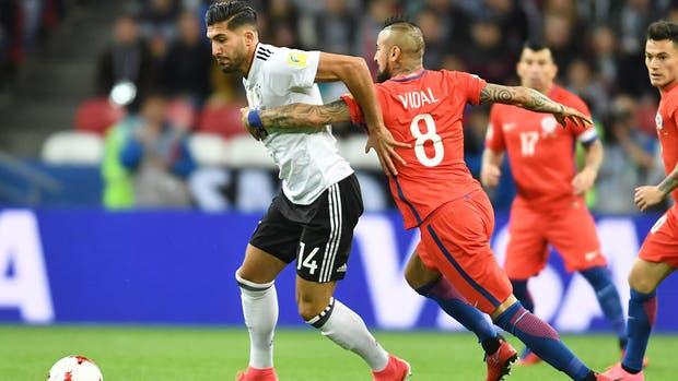 Alemania vs. México, en semifinales de la Copa Confederaciones