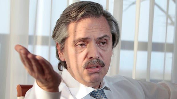 El ex jefe de Gabinete kirchnerista Alberto Fernández