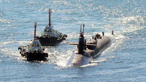 Ejercicios militares en la península coreana