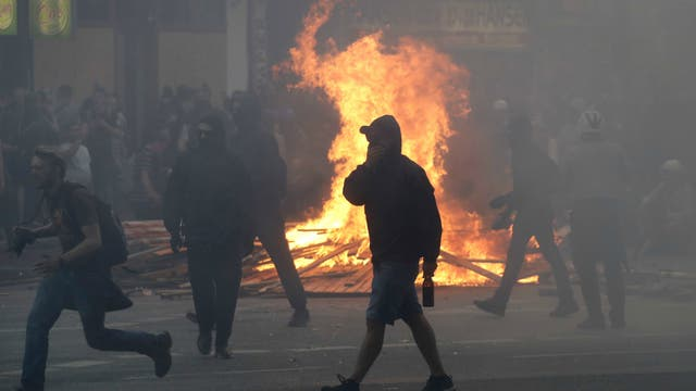 Protestas contra el G-20: 196 policías heridos en Hamburgo