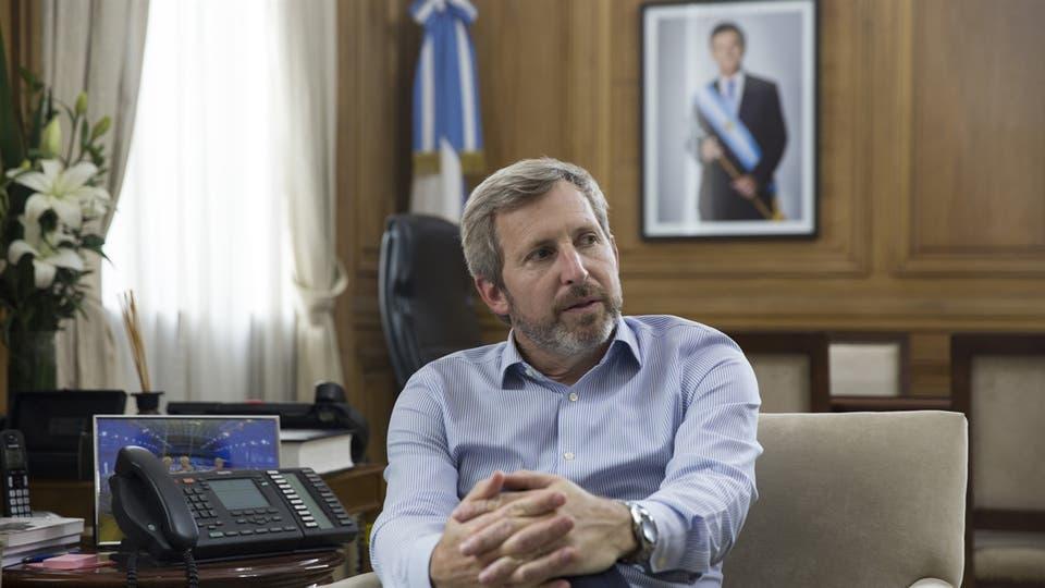 El ministro del Interior aseguró que el Banco Central