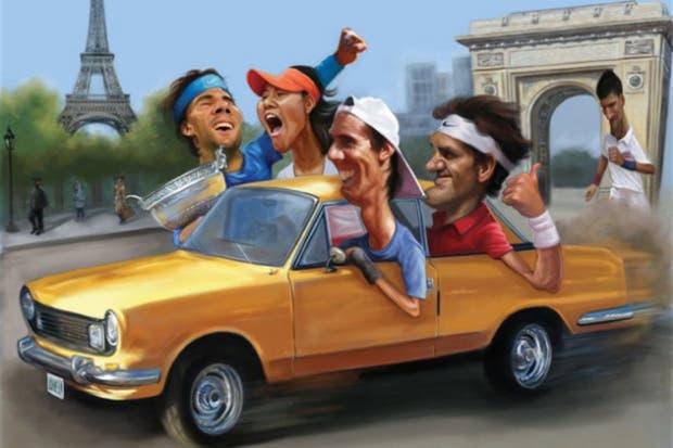 En Roland Garros 2011, una gran actuación del Flaco