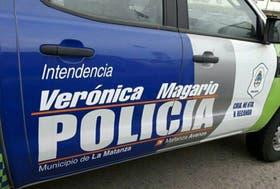 Uno de los patrulleros ploteados por el municipio de La Matanza