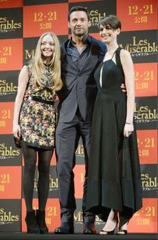 Los protagonistas de Les Miserables. Foto: AP