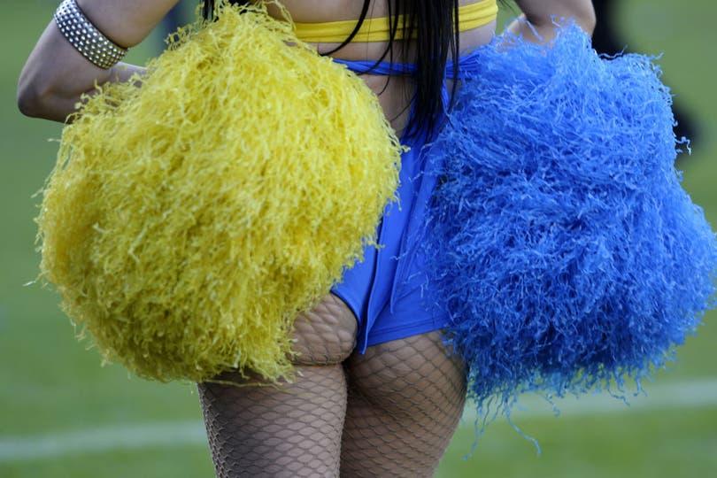¿Ustedes dicen que Boca tuvo suerte en el primer tiempo?. Foto: AFP
