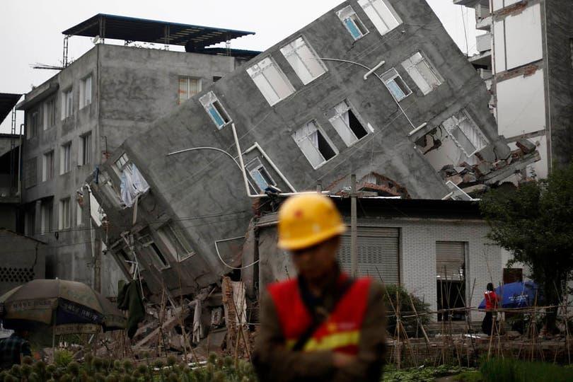 Edificios destruídos, casas desmoronadas y toneladas de escombros en las calles. Foto: Reuters
