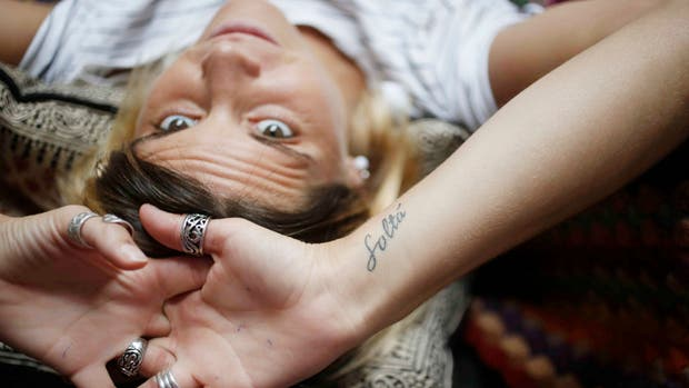 Pía Martínez Silveyra y un tatuaje que le recuerda la importancia de no aferrarse a situaciones o personas