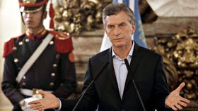 Macri le habló a los jubilados