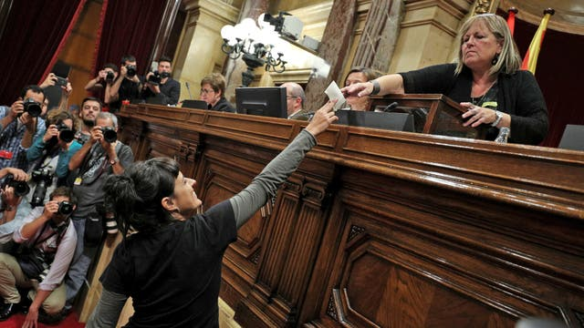 Los diputados votaron en secreto para evitar represalias