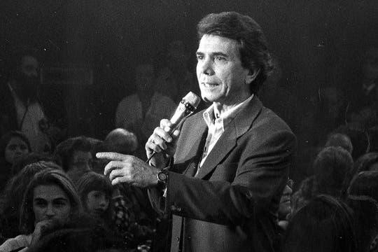 Su trayectoria en televisión fue tan destacada como en la radio. Foto: Archivo