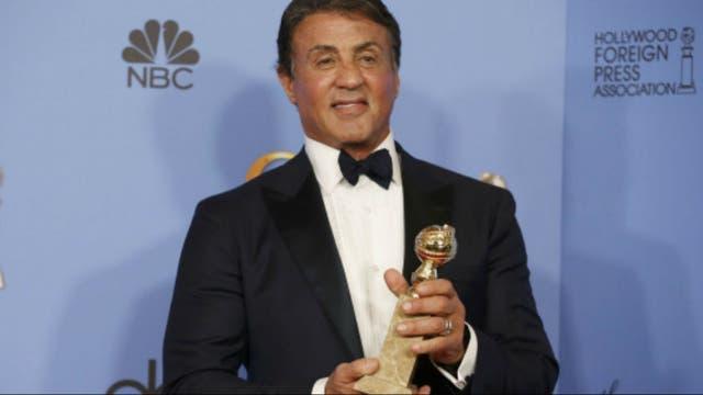 Sylvester Stallone, el mejor actor de reparto por Creed