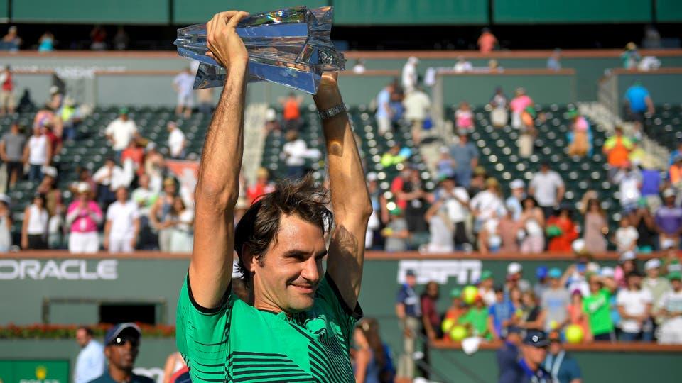 Gran Triunfo de Roger Federer ante Wawrinka. Foto: AP