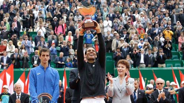 Rafael Nadal: le ganó a Albert Ramos la final del Masters 1000 de Montecarlo