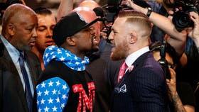 Los dos boxeadores cara a cara