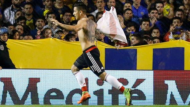 Driussi puede cambiar de camiseta para sus próximos gritos de gol
