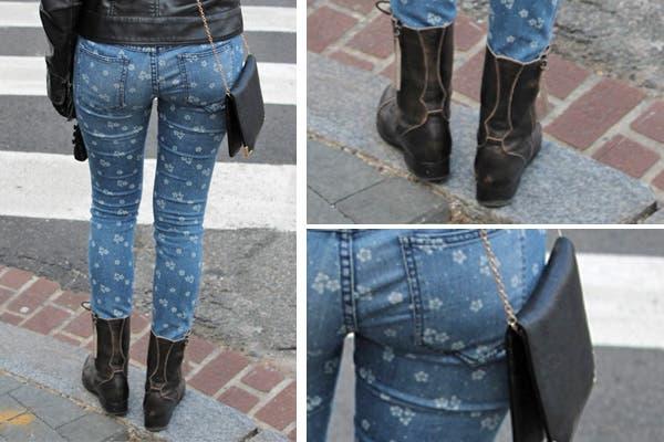 ¡Jeans estampados! Son lo nuevo para darle estilo al clásico denim.