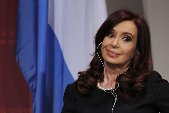 La mandataria dijo que la reforma constitucional no es su responsabilidad ni deseo. Foto: Reuters
