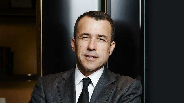 Christophe Massoni, CEO de Cartier para Latinoamérica y el Caribe.