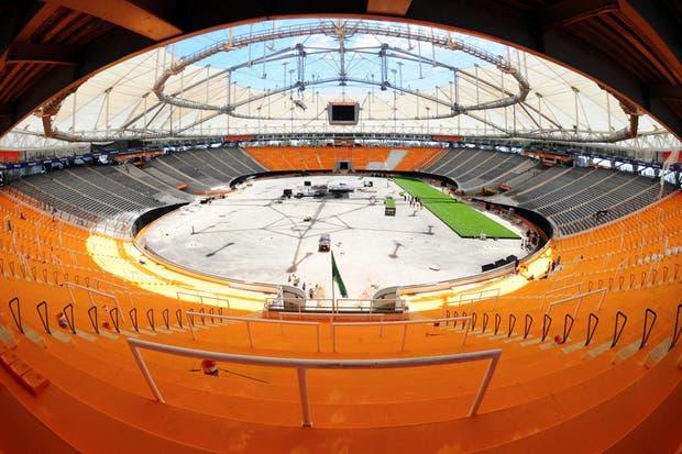 Una de las sedes de la próxima Copa América tuvo su presentación oficial.  Foto:EFE