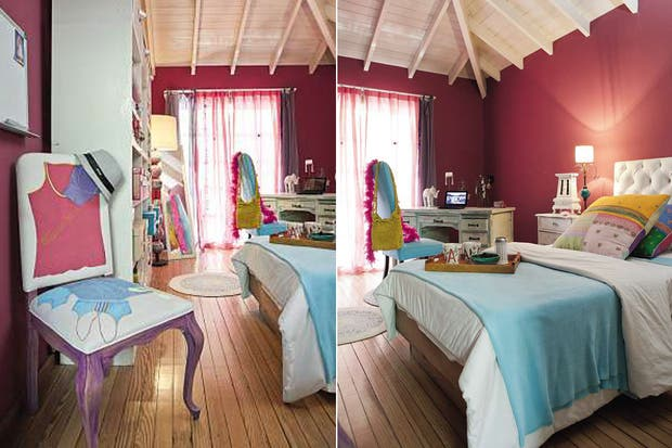 Ideas para decorar tu cuarto con color - Living - ESPACIO LIVING