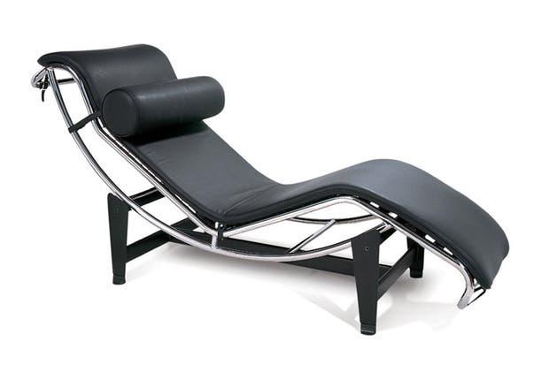 Chaise Longue LC4, de Le Corbusier .