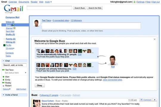 Imágenes del nuevo servicio que busca competir con las redes sociales y su flujo de información en tiempo real. Foto: Google