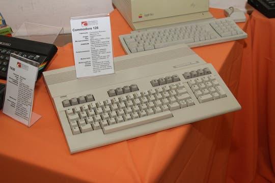 La clásica Commodore 128. Foto: Gentileza Museo de Informática