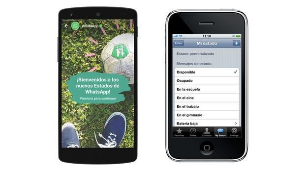 La información de estado en texto y de forma permanente vuelve a WhatsApp, una característica que había sido desplazada en su momento por los contenidos efímeros de Estados