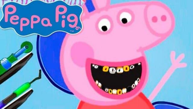 Un capítulo en el que se imitaba a Peppa Pig en el dentista fue eliminado tras recibir varias críticas